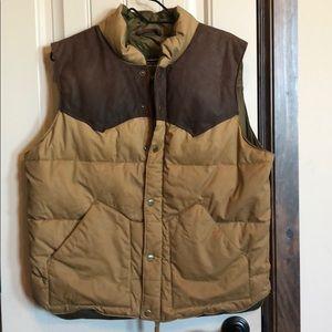 Vintage Men's Eddie Bauer Goose Down Vest Sz M